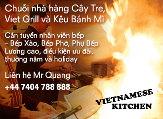 nha hang viet london tim dau bep